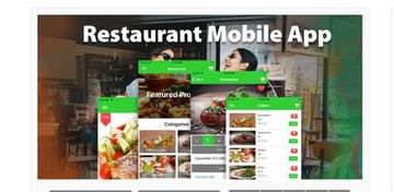 Ionic 3 Restaurant