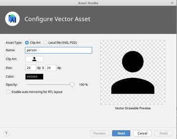 vector asset