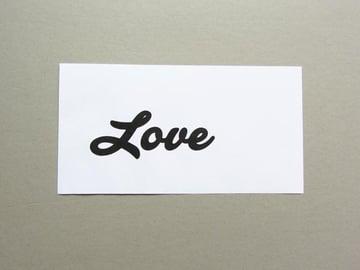 Printed word