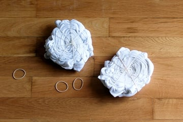 twist and bind the second pillow case