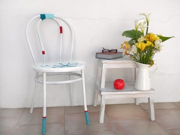 Final Viennese chair makeover