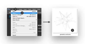 Uploading a PNG file in Photoshop