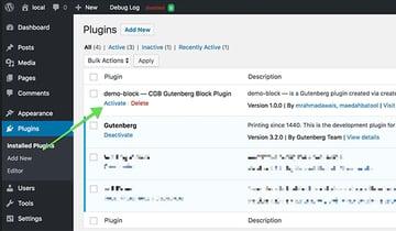 demo block with create-guten-block toolkit