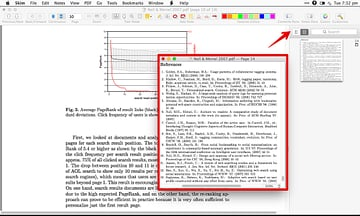 It is very easy to take snapshot of a window in Skim notice the snapshot window in note pane as well