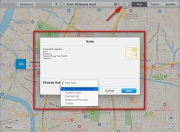 embed-maps-into-notes-application