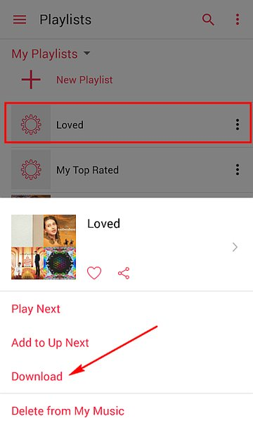 loved-playlist-android-device