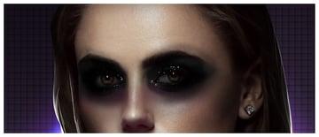 Darken eyes