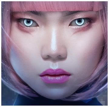 paint pink makeup