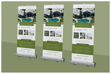 Roll-up Banner for Property Promotion
