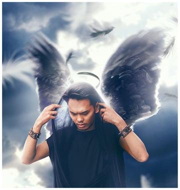 create an angel