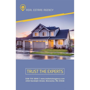 Flyer Maker to Create a Real Estate Agency Flyer