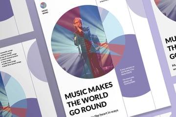 Music Band Poster
