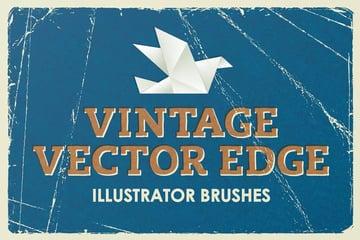 Vintage Vector Edge Brushes