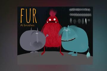 Furry brushes