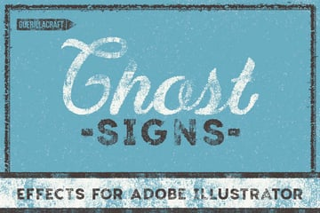 Ghost Signs for Adobe Illustrator