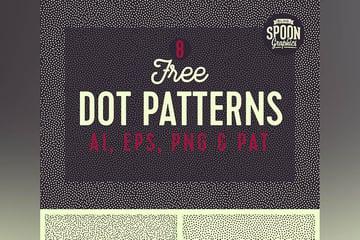 8 Free Seamless Dot Patterns