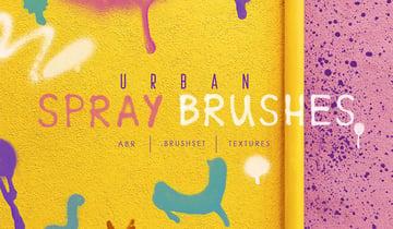 ProcreatePh Urban Spray Brushes