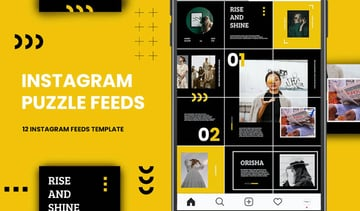 Instagram Puzzle - Orisha