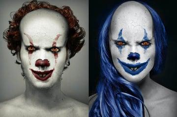 Clown Photoshop Action