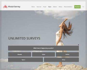 Modal Survey: WordPress Poll, Survey, and Quiz Plugin