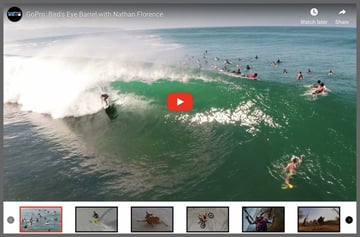 HTML5 Video Player With Full Screen Video Background