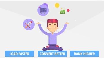 WP Compress load faster convert better rank higher