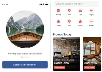 Felix Travel React Native Travel App Template