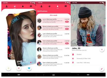 Hookup4UTinderlike Flutter Dating UI Kit