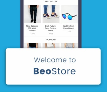 BeoUI—Complete Mobile UI Template for React Native