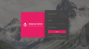 Material - White label admin theme
