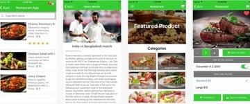 Ionic 3 Restaurant Mobile App