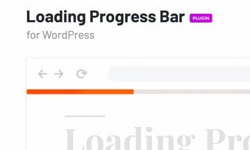 Loading Progress Bar for WordPress