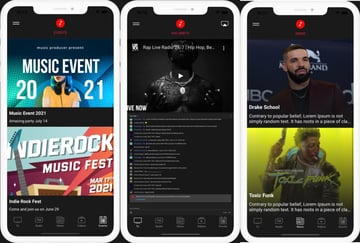 VOLUMETV - Live Streaming & Radio Station app