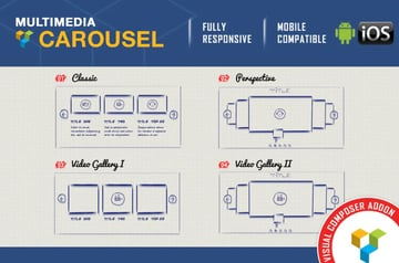 Multimedia Carousel -Visual Composer Addon - WP Bakery Page Builder
