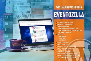 EventoZilla - Event Calendar WordPress Plugin