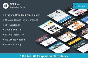 WP Lead Capturing Pages: Plugin WordPress para crear páginas de captura de clientes potenciales