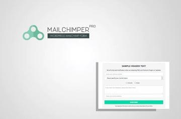 MailChimper PRO - Formulario de suscripción a Mailchimp para WordPress
