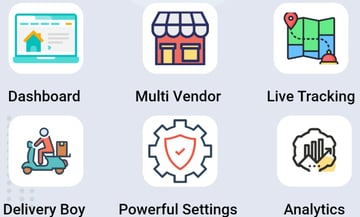 Food delivery - Multiple Restaurants Food Ordering Flutter App Mealup
