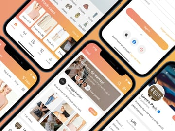 Eclipse - React Native E-Commerce Multi Vendors Shopping UI Template