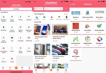 Classima classified ads android app
