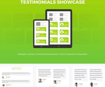 Testimonial Showcase for WordPress