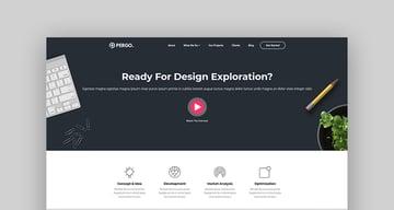 Pergo - Multipurpose Landing Page WordPress Theme