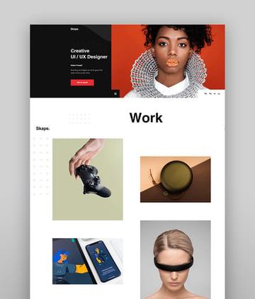 Skape - Creative Agency & Portfolio HTML Template