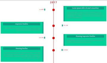 Event Timeline – Vertical Timeline