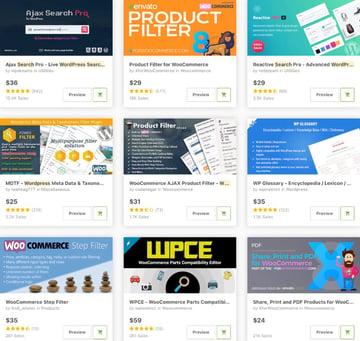 WordPress Search Plugins on CodeCanyon
