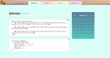 Jalendar 2 Calendar Kit [Events, Range Selecting and More...]