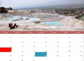 DZS jQuery Mini Events Calendar