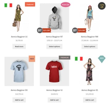 Advanced Product Labels for WooCommerce