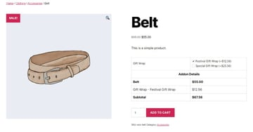 Extra Product Options for WooCommerce