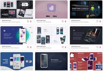 mobile+app+promo+videos on Envato Elements